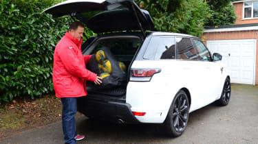 Range Rover Sport Long-term - boot