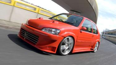 Modified Peugeot 106