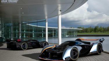 McLaren Ultimate Vision Gran Turismo - Woking