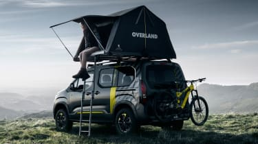 Peugeot Rifter 4x4 Concept - tent