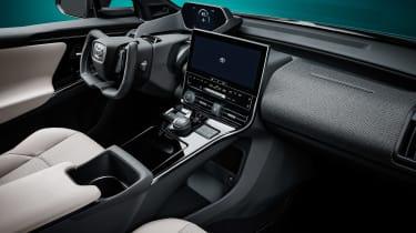 Toyota bZ4X concept - interior