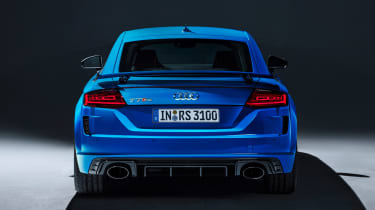 Audi TT RS Coupe - studio full rear
