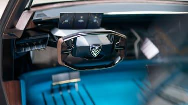 Peugeot e-Legend- dash