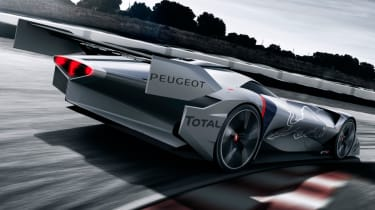 Peugeot L750 R Hybrid Vision Gran Turismo - action rear