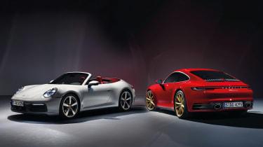 Porsche 911 Carerra - range