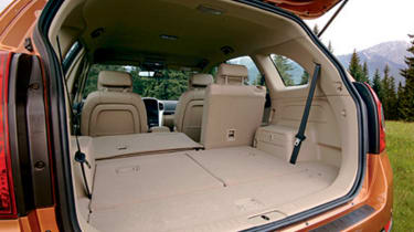 Folding seats give plenty of room
