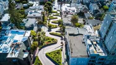 Record breaking roads - Lombard Street, USA