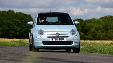 Fiat 500 - front tracking