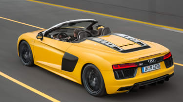 Audi R8 Spyder 2016 official - rear tracking 3