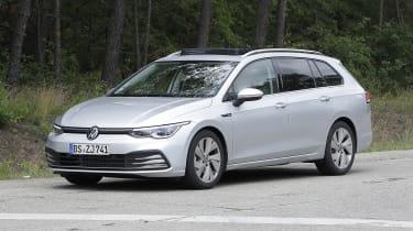 new 2021 volkswagen golf alltrack and estate spotted
