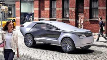 Car design - Land Rover Aegis by Matthew Robson