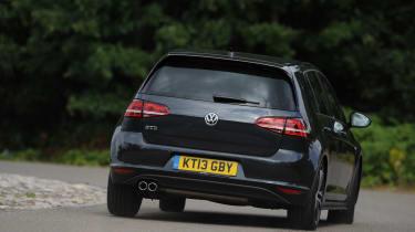 Volkswagen Golf GTD rear cornering