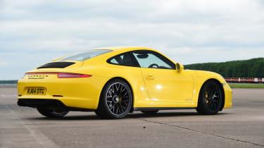 Porsche 911 Carrera 4 GTS - rear static