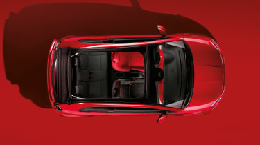 Fiat 500(RED) - above 3