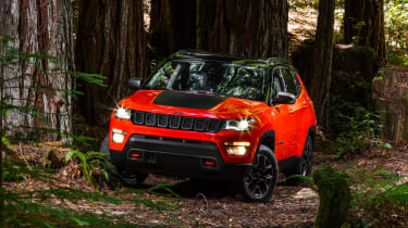 Jeep compass 2017 front red