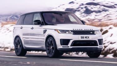 Range Rover Sport HST - front