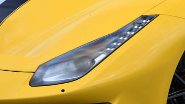 Ferrari 488 Pista - front light