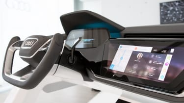 Audi Virtual Dashboard - demo model close