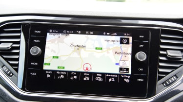 vw t-roc infotainment