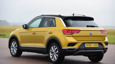 Volkswagen T-Roc - rear static