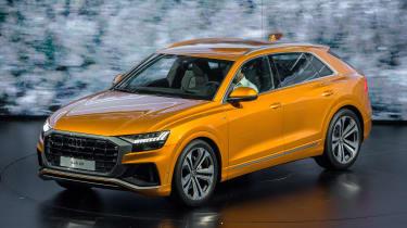 New Audi Q8 reveal - front static