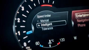 Ford S-MAX Titanium dial