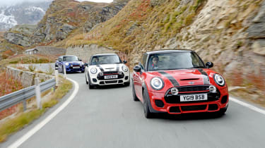 The Italian Job - MINI tracking