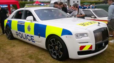 Rolls Royce police car