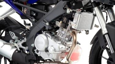 Yamaha YZF-R125 engine