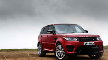 Range Rover Sport SVR - static