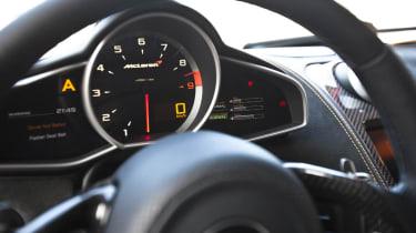 McLaren MP4-12C review dials
