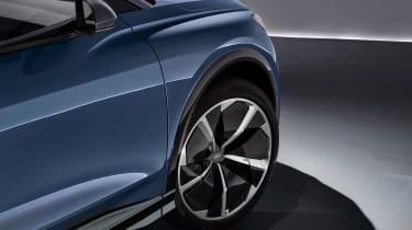 Audi Q4 e-tron concept - side profile