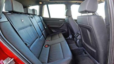 Alpina XD3 - rear seats