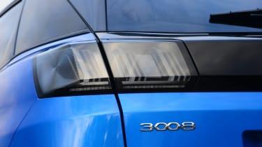 Peugeot 3008 - rear light