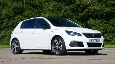 Peugeot 308  - front static