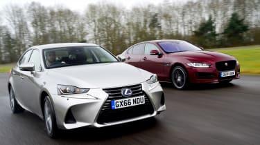 Lexus IS vs Jaguar XE - header