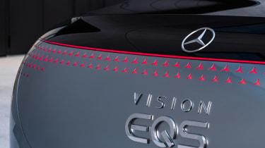 Mercedes Vision EQS concept - Vision EQS badge