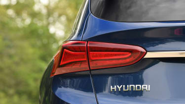 Hyundai Santa Fe - long-term first report rear light