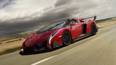 The Lamborghini Veneno costs nearly £3million - and it would do, looking like that...