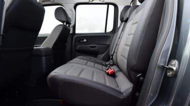 Used Volkswagen Amarok - rear seats
