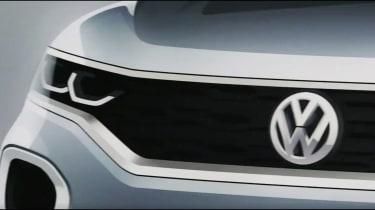Volkswagen T-Roc teaser front