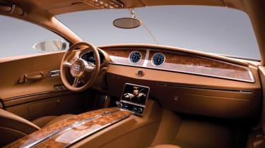 Bugatti 16C Galibier - interior