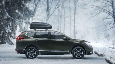 New Honda CR-V - side profile
