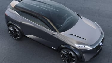 Nissan IMQ concept - above front