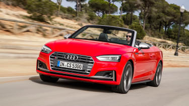 Audi S5 Cabriolet - front action