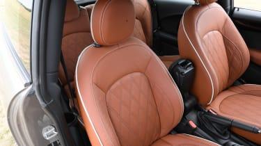 MINI Cooper S - front seats
