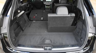 Mercedes GLE - boot