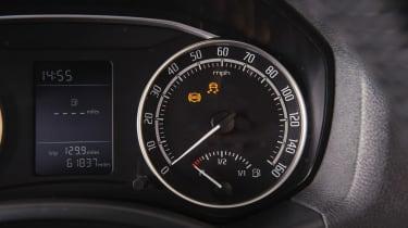 Used Skoda Octavia - dials