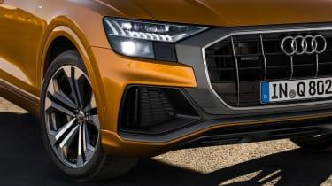 Audi Q8 - front detail