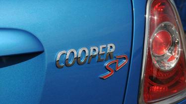 MINI Hatchback Cooper SD badge